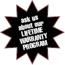 ask about the SHS Lifetime Warranty Program