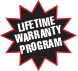 Lifetime Warranty Program